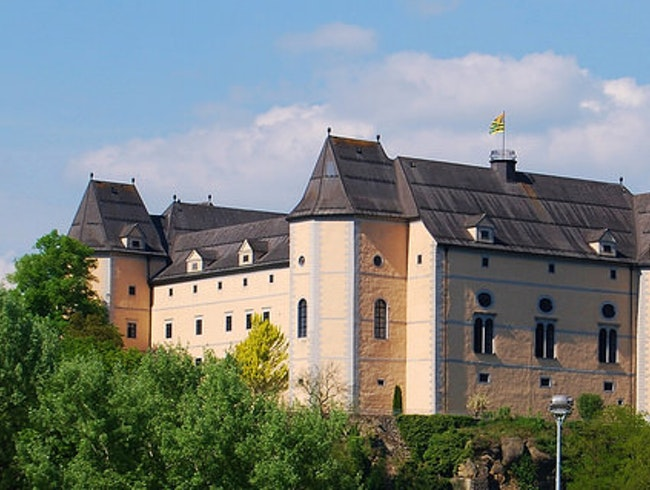Schloss Greinburg on the Danube