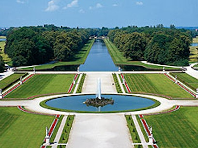 Schlosspark Nymphenburg Munich  Germany
