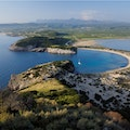 Voidokilia Beach Pilos  Greece