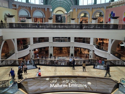 Mall of the Emirates Dubai  United Arab Emirates