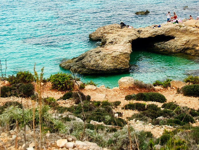 Swim and Sail in Malta's Blue Lagoon