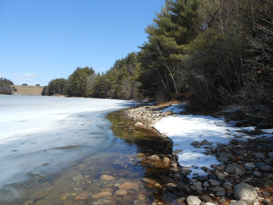 Half Frozen, Half Thawed Barkhamsted Connecticut United States
