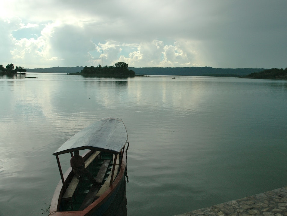 Calm after the storm  Peten  Guatemala