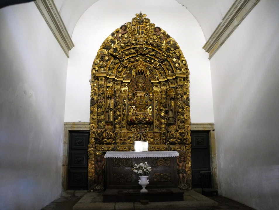 Interior Of the Capela de Santa Catarina Chaves  Portugal
