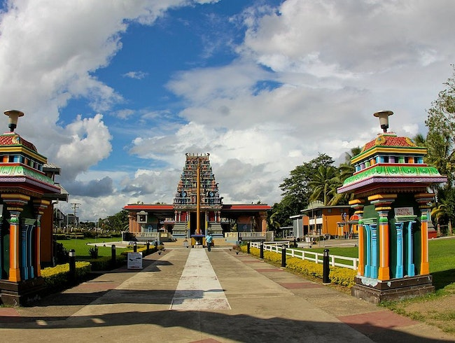 Largest Hindu Temple in the Southern Hemisphere