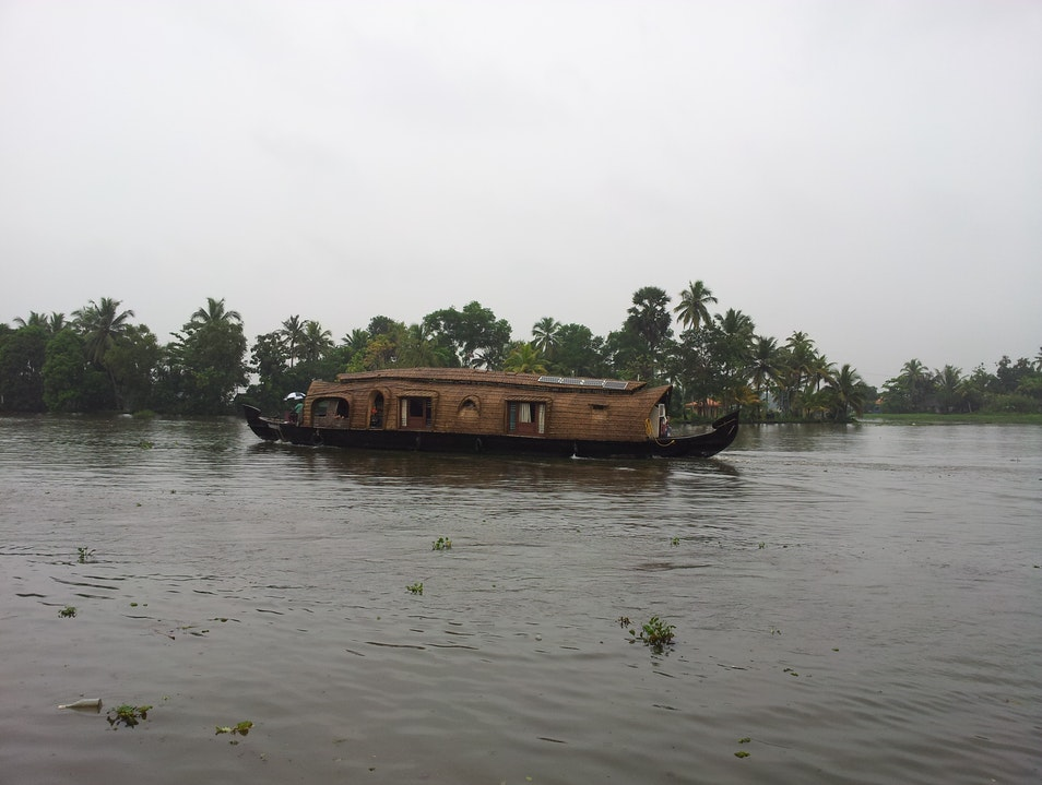 The Houseboat Alappuzha  India
