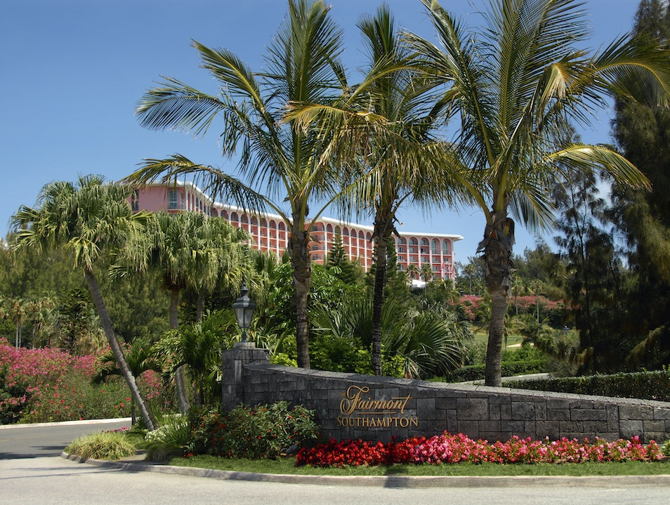 Bermuda-Style Luxury at the Fairmont Southampton Southampton  Bermuda