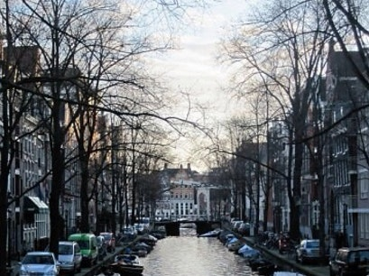 Canal Amsterdam  The Netherlands