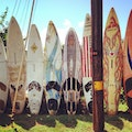 Paia Surfboard Wall Maui County Hawaii United States