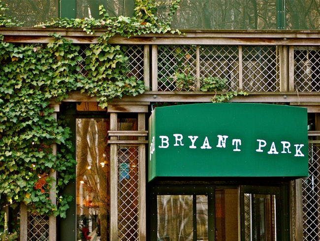 Beautiful Bryant Park