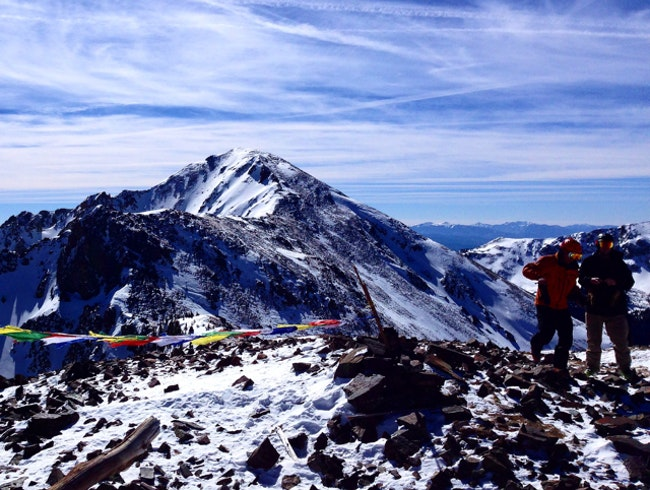 Die-Hard Skiiers Unite Atop Katchina Peak