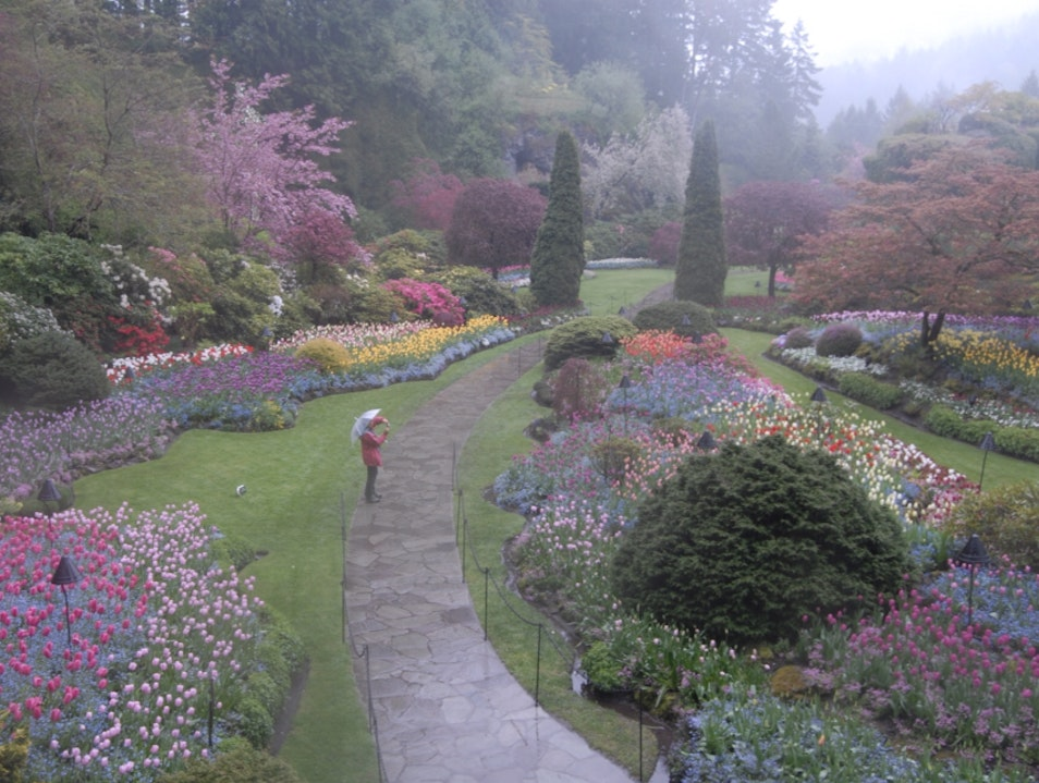 Butchart. Gardens Brentwood Bay  Canada