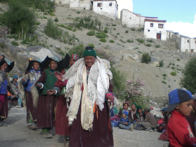 Women's  Dance at Lingshed Festival, Ladakh Region, India
