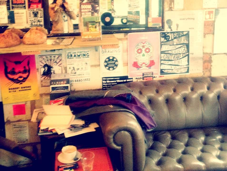 Cafe culture in London