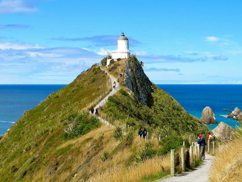 Nugget Point, the Catlins Ahuriri Flat  New Zealand