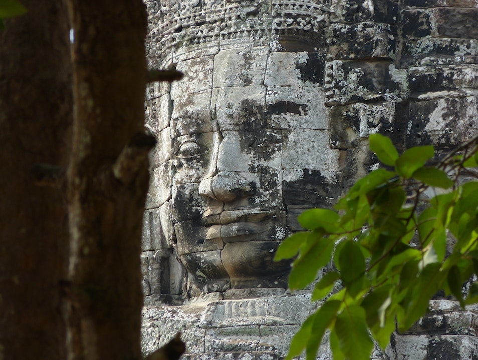 Buddha Faces of Angkor Thom    Cambodia