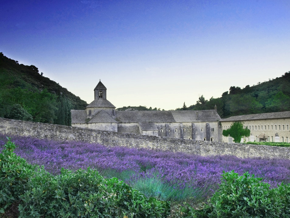 In the Land of Lavender Gordes  France