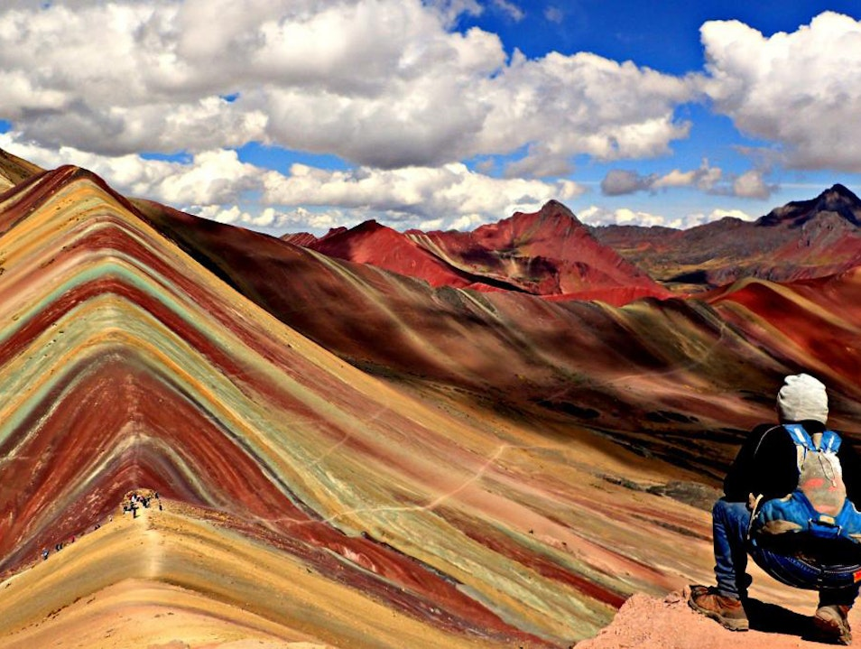 Rainbow Mountain Peru Canchis  Peru