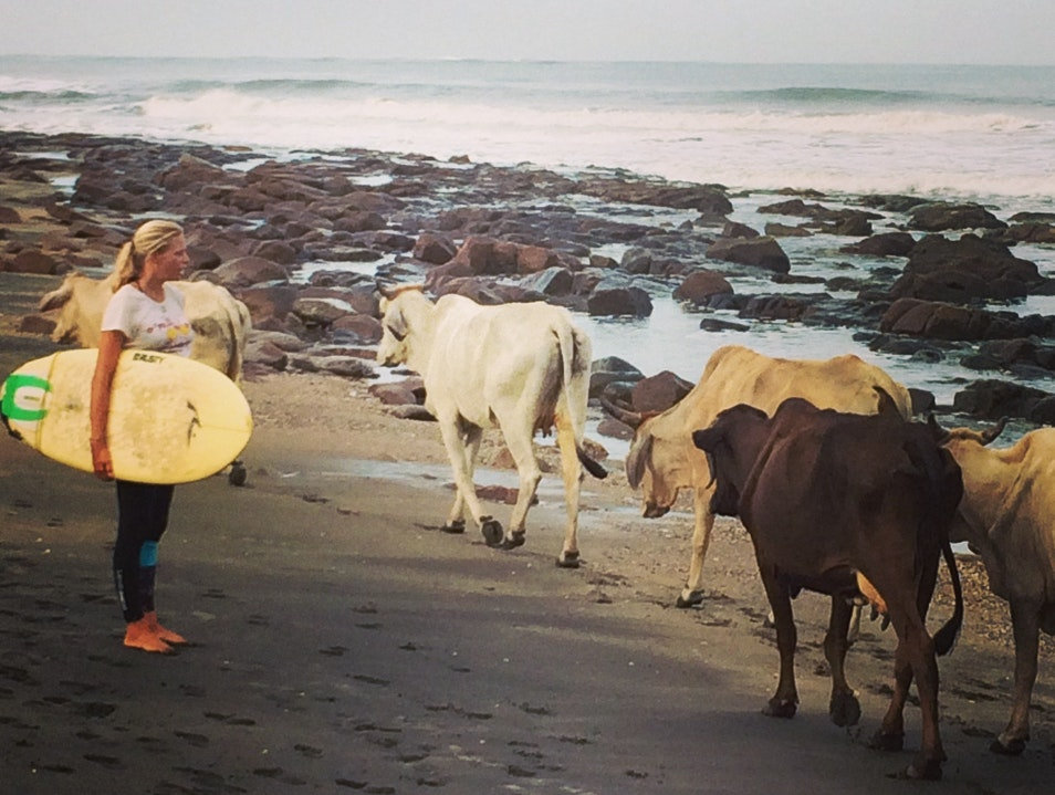 Surfing with the Locals Chinandega  Nicaragua