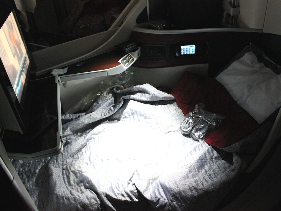 Qatar Airways More Than Deserves Best Business Class