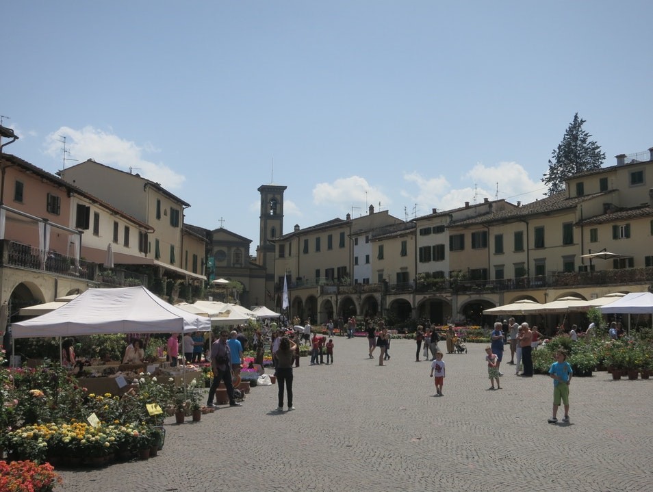 Lunch Stop on the Chianti Road Greve In Chianti  Italy