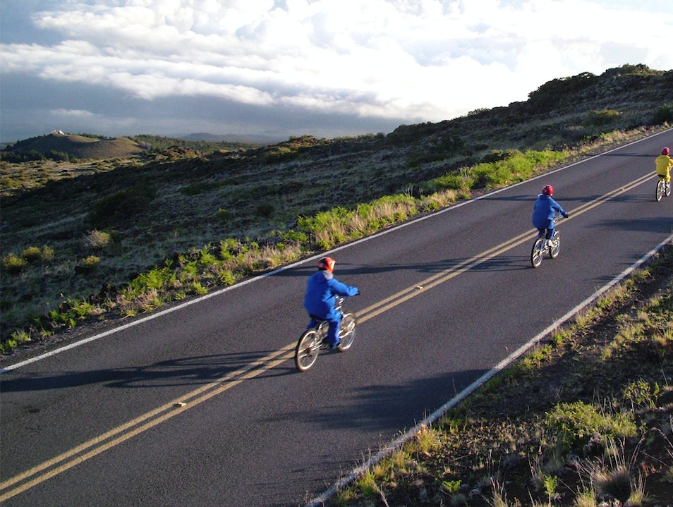 Bike Down Haleakala Kula Hawaii United States