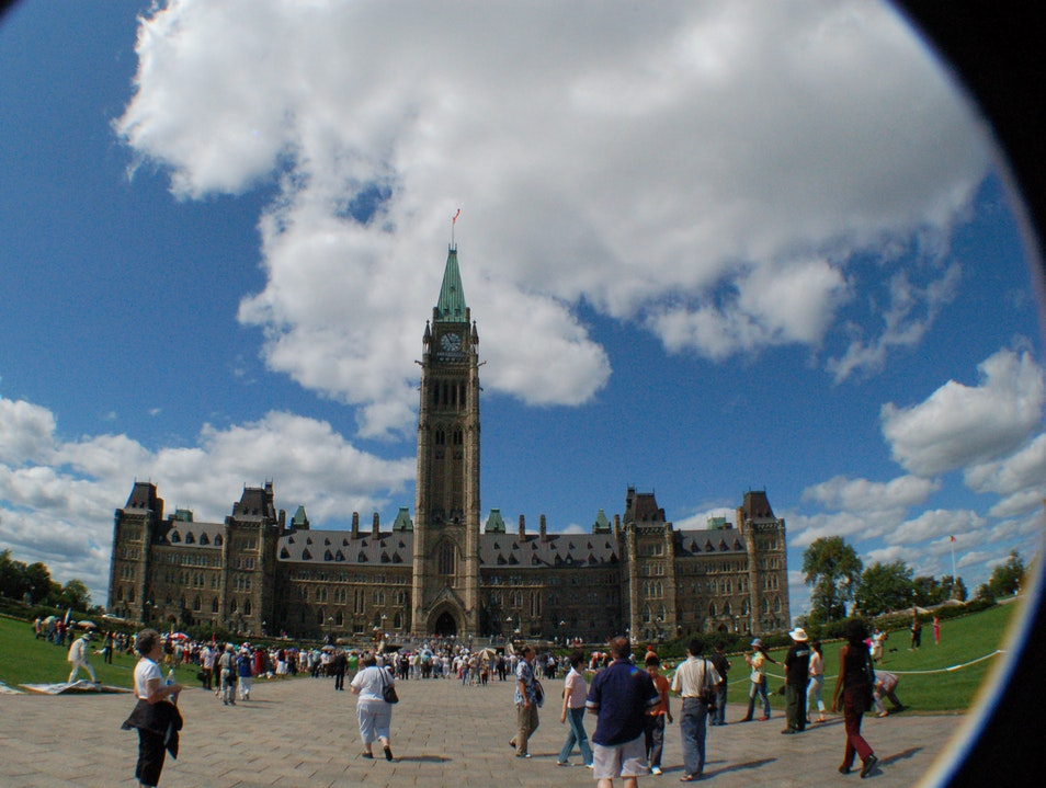 Parliament Hill and Buildings Ottawa  Canada