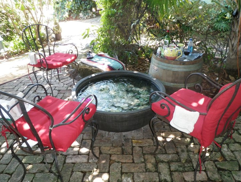 Tea & Toes: Garden Hydro-therapy~Japanese Style Delray Beach Florida United States