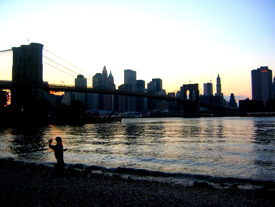 Skip Rocks and Check Out the View New York New York United States