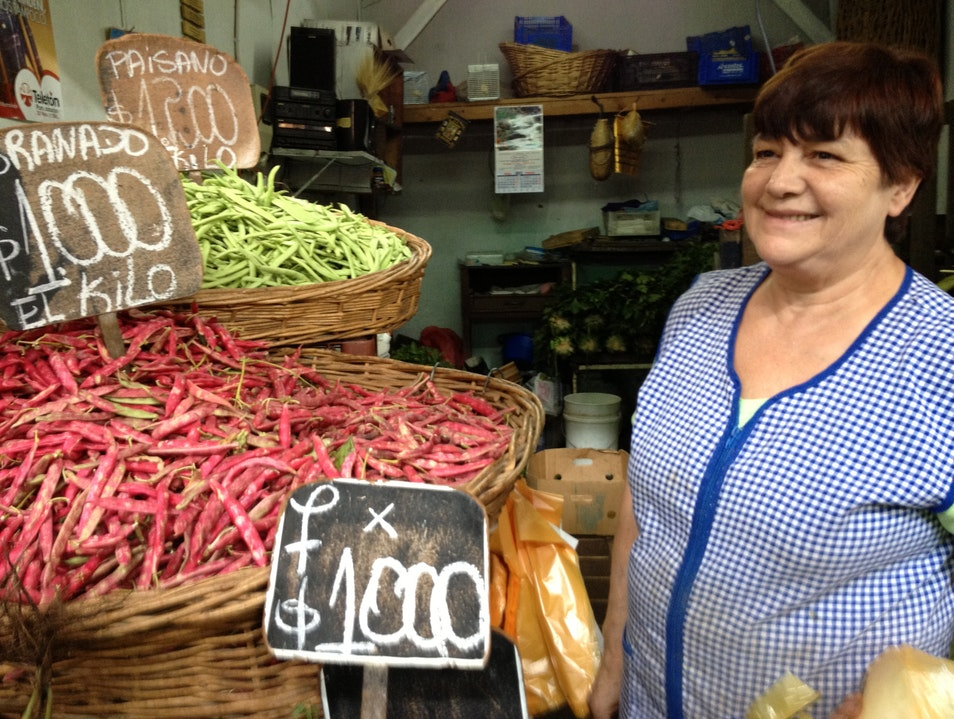Culinary Bounty at Santiago's Largest Fresh Market Recoleta  Chile
