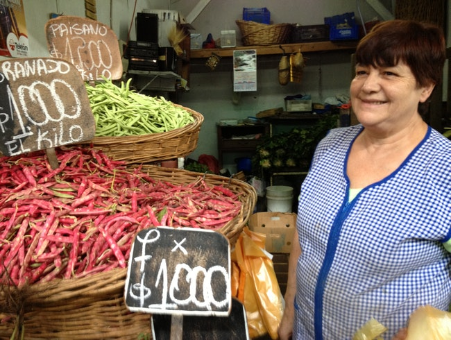 Culinary Bounty at Santiago's Largest Fresh Market