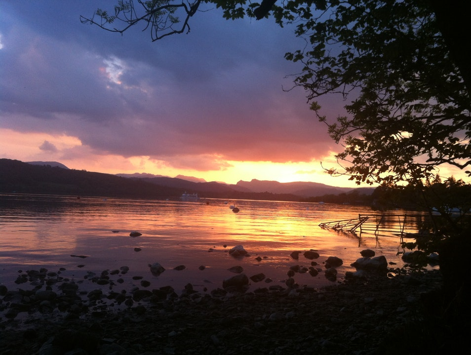 Cumbrian Sunset Bowness On Windermere  United Kingdom