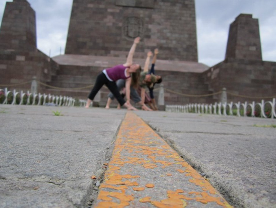 Yoga on the Equator San Antonio  Ecuador