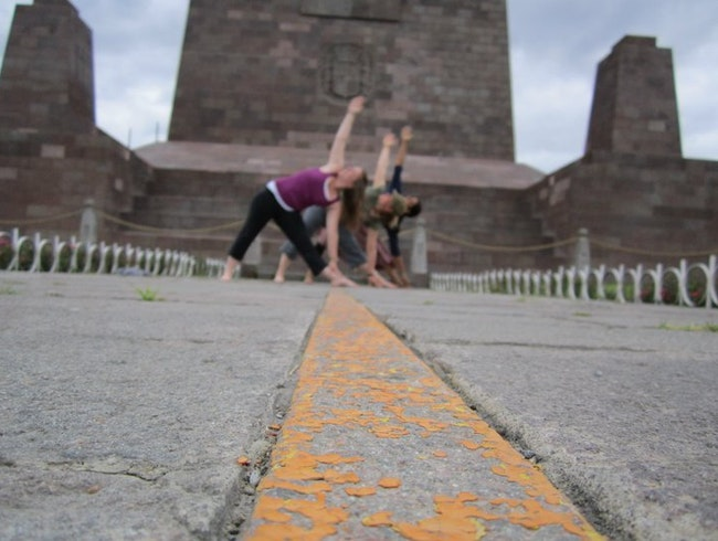 Yoga on the Equator
