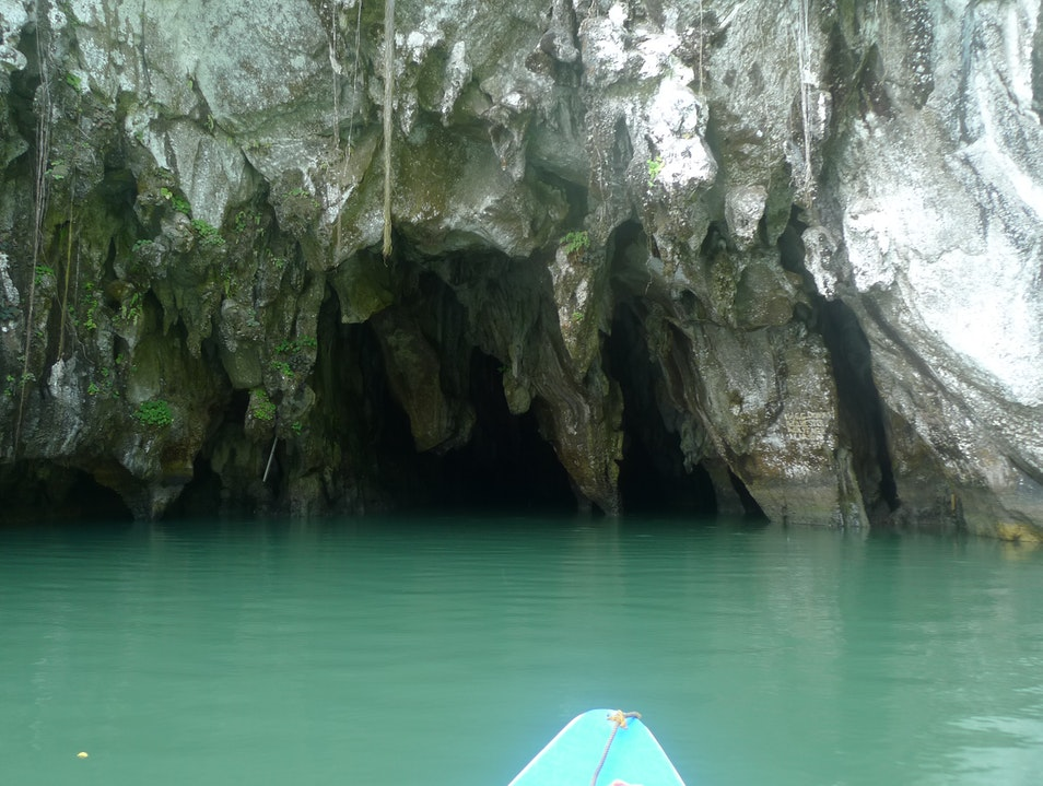 Hole in the Wall Puerto Princesa  Philippines