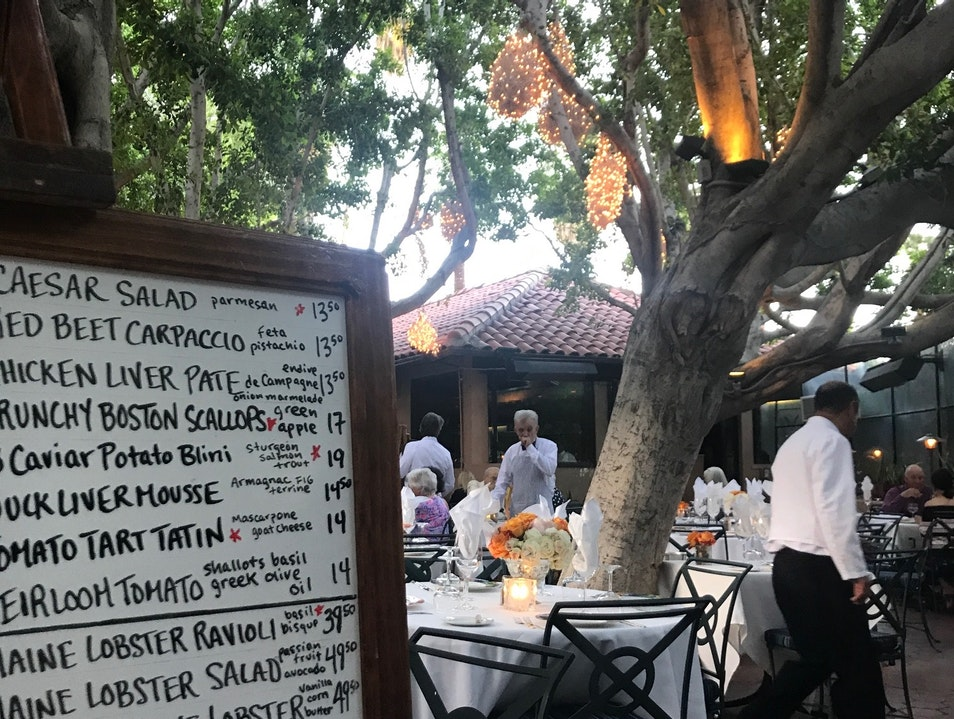 Classic Fine Dining in Palm Springs Palm Springs California United States