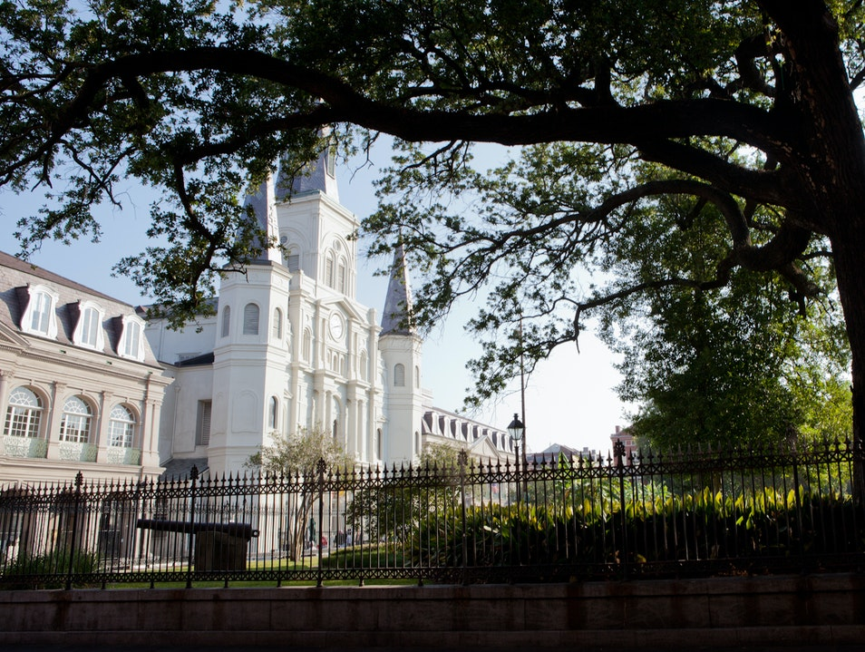 See a Beautiful American Cathedral New Orleans Louisiana United States