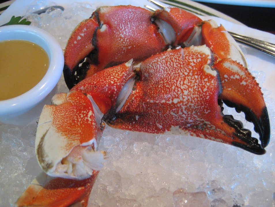 Simple and Sweet Stone Crab Boston Massachusetts United States