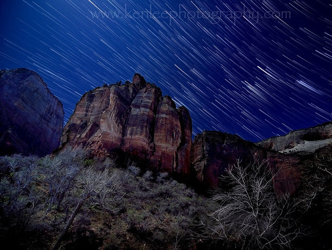 Zion National Park - Big Bend Star Trails