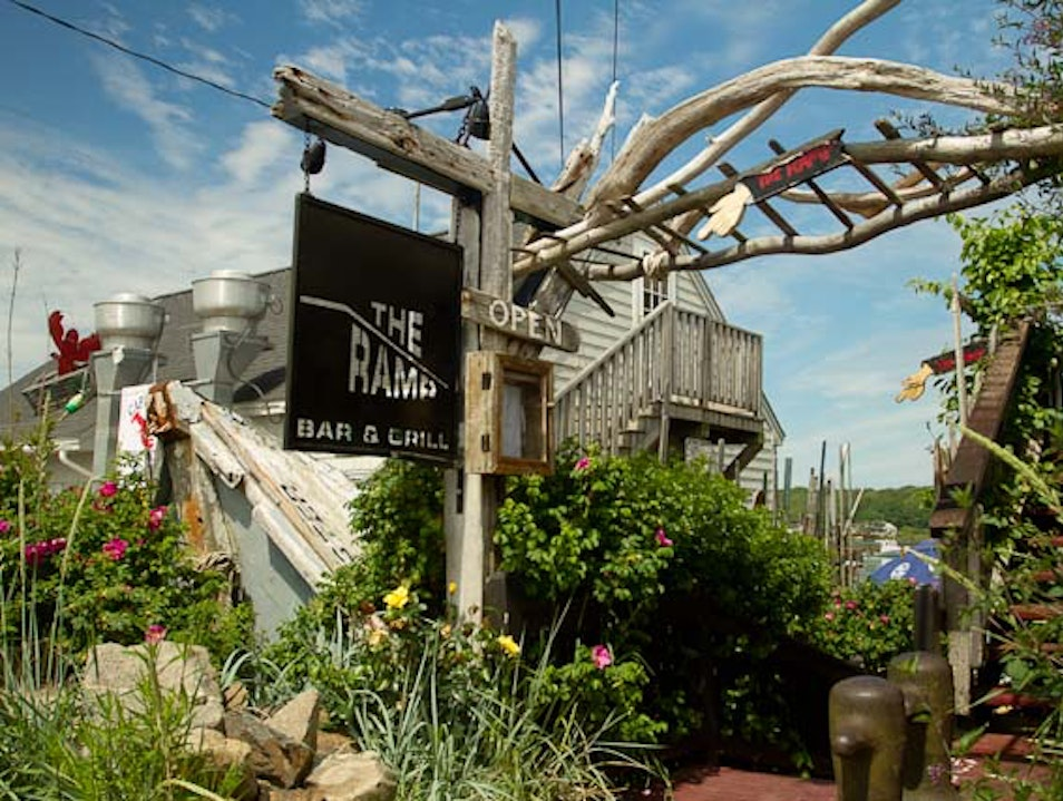 Local Hangout Kennebunkport Maine United States