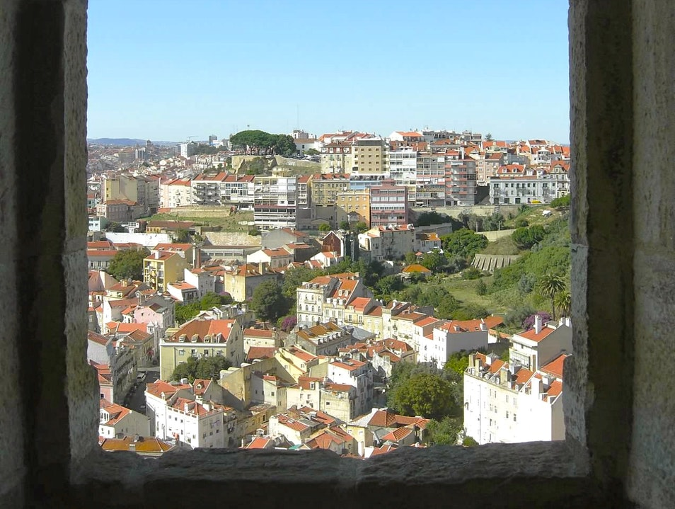 Best view in Lisbon Lisbon  Portugal
