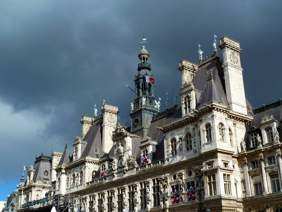 The Haughty Hotel de Ville... Paris  France
