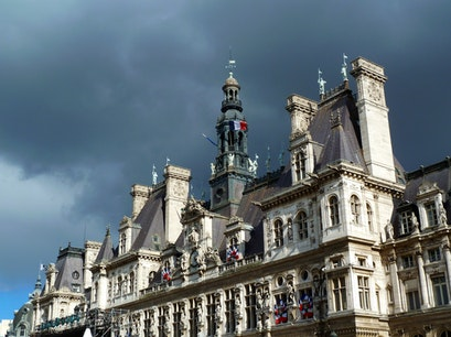 Hôtel de Ville Paris  France