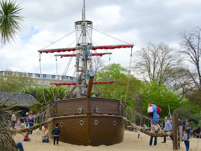 Pirate Ships, Treasure Chests and Tree Forts
