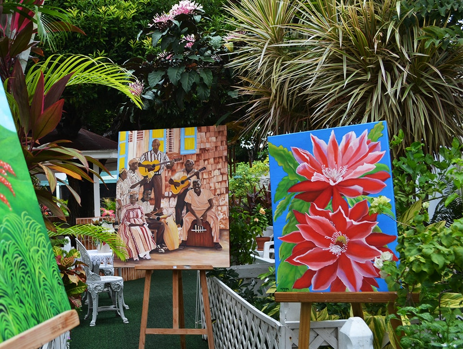 Maximilian's Art in the Garden Gallery  Philipsburg  Sint Maarten