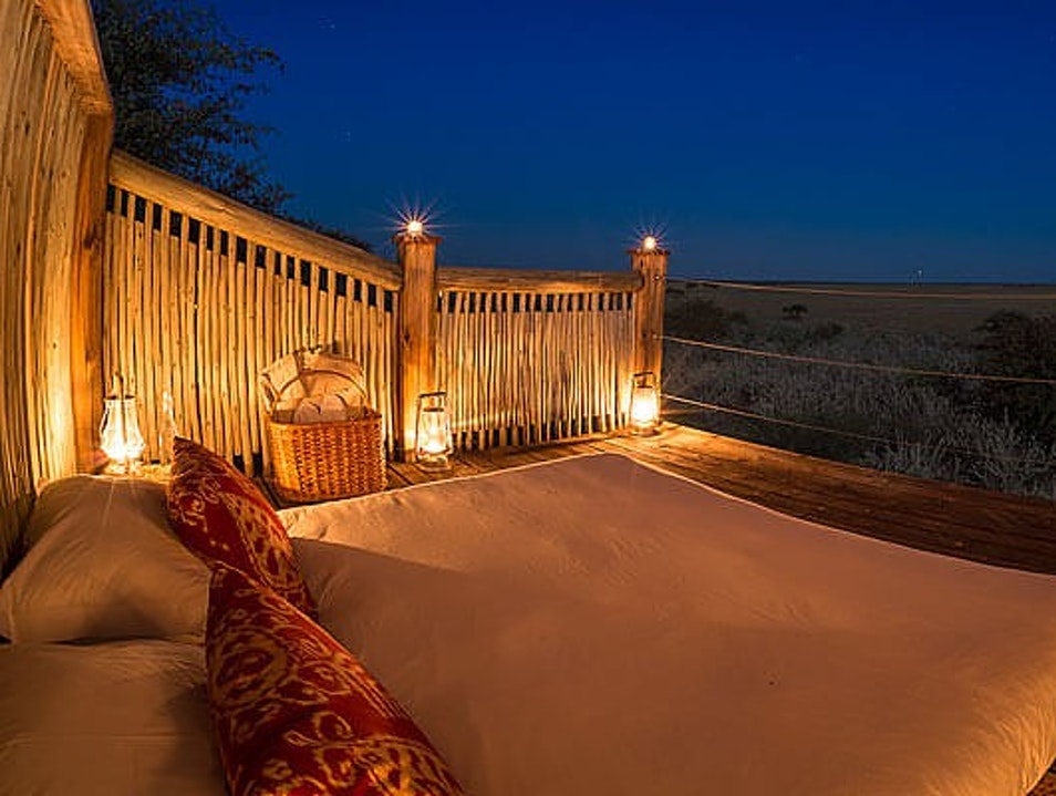 Sleep Under the Stars in the Kalahari Desert CKGR  Botswana