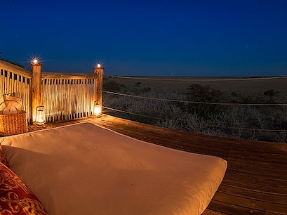 Kalahari Plains Camp CKGR  Botswana