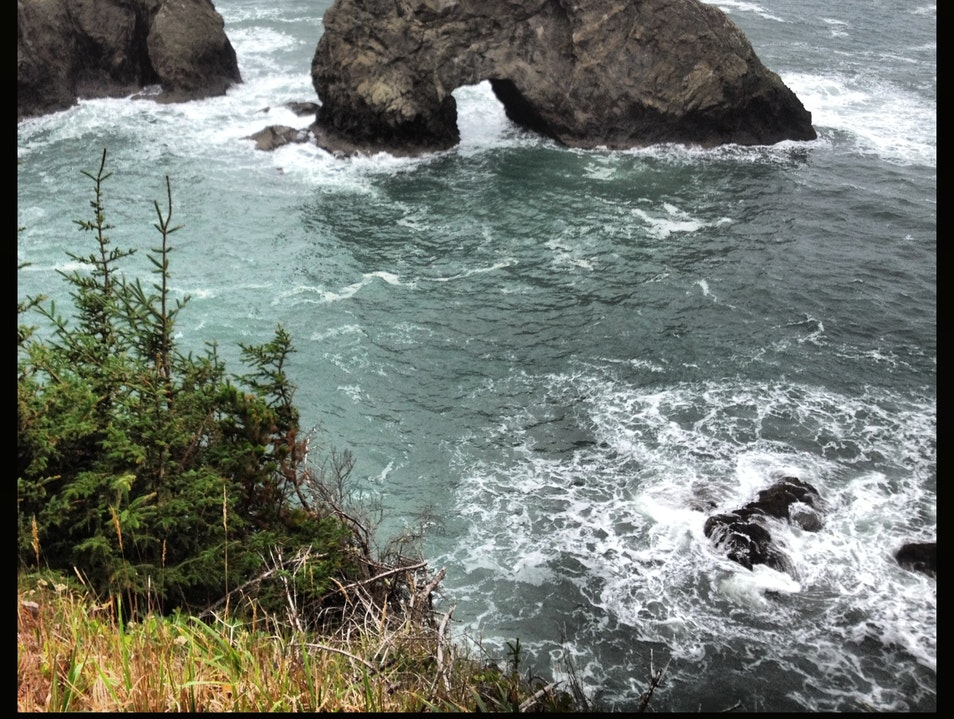 Arch Rock is Awesome Brookings Oregon United States
