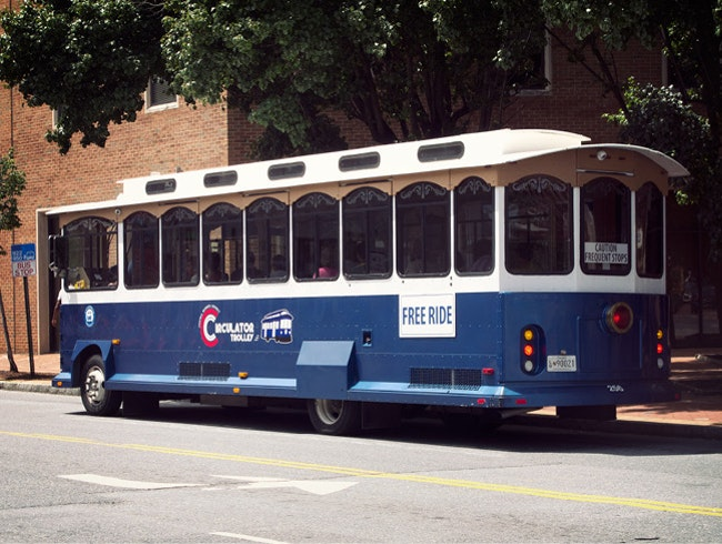 Annapolis' Free Circulator Trolley