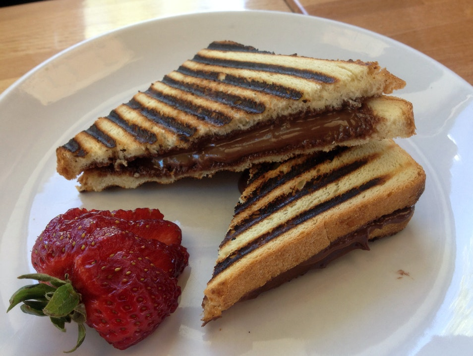 Nutella Panini at Park & Main Breckenridge Colorado United States